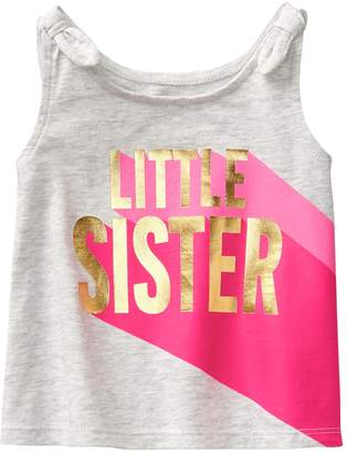 Crazy 8 Crazy8 Toddler Little Sister Tank