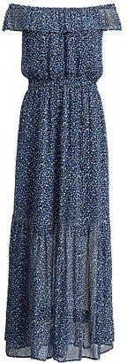 Ralph Lauren Denim & Supply Floral Off-The-Shoulder Dress $165 thestylecure.com