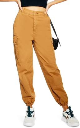 Topshop Tommy Cuff Utility Trousers
