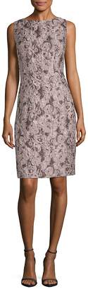Lafayette 148 New York Women's Verona Jacquard Silk-Blend Sheath Dress