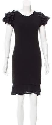 Bottega Veneta Mesh Knee-Length Dress