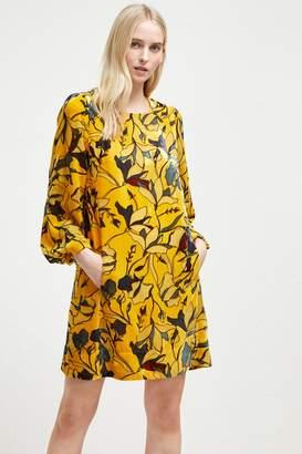 French Connenction Aventine Velvet Tunic Dress