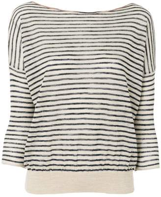 Bellerose striped knit top