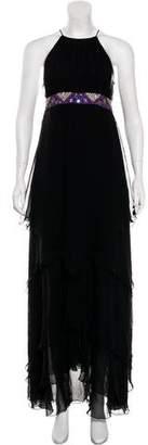 Matthew Williamson Sleeveless Halter Dress