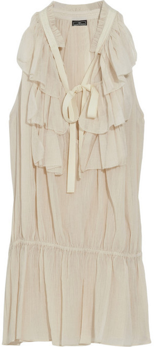 By Malene Birger Ruffled cotton top