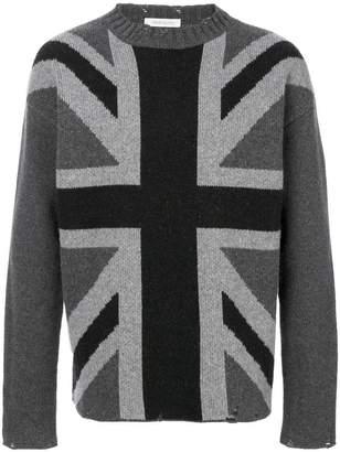 Pierre Balmain Great Britain flag sweater