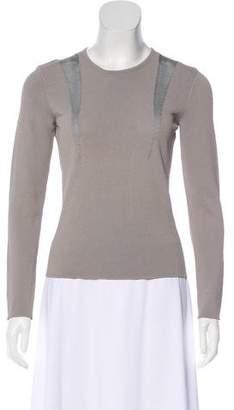 Giorgio Armani Long Sleeve Knit Top