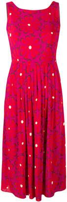 Siyu floral print flared dress