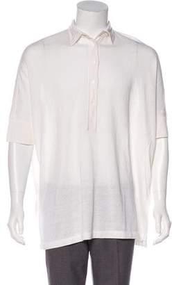 Loro Piana Linen & Silk Polo Shirt