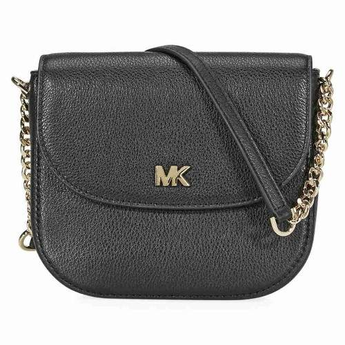 Michael Kors Mott Crossbody Bag- Black - ONE COLOR - STYLE