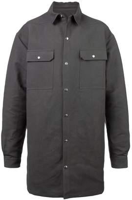 Rick Owens Sisyphus shirt jacket