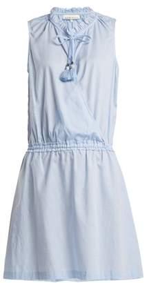 Heidi Klein Cassis wrap-front cotton dress