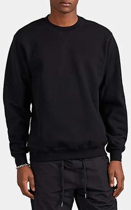 Stampd Men's Zip-Detailed Cotton Sweatshirt - Black