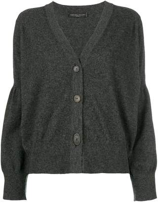 Fabiana Filippi draped sleeve buttoned cardigan