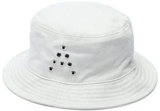 Acne Studios Buk A Cotton Twill Bucket Hat - Mens - White 960cdc993c8