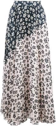 Jill Stuart floral-print pleated skirt