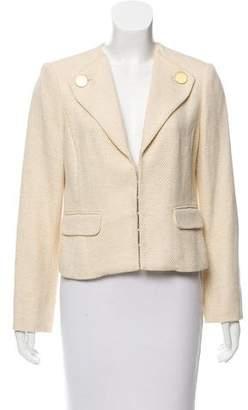 Magaschoni Structured Tweed Blazer