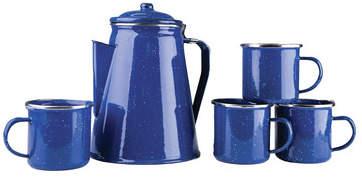 Stansport 5 Piece Coffee Pot and Mug Set