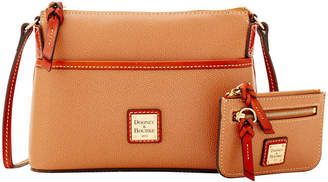 Dooney & Bourke Claremont Ginger Crossbody & Small Coin Case