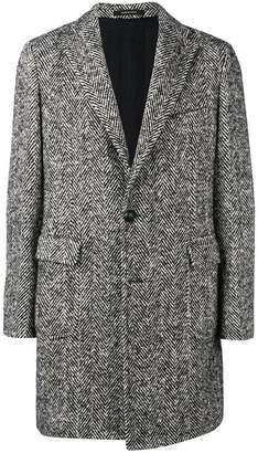 Tagliatore classic tweed coat