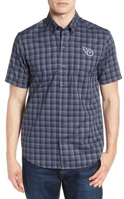 Cutter & Buck Tennessee Titans - Fremont Regular Fit Check Sport Shirt