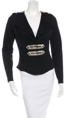 Alice by Temperley Embellished Wool Jacket $125 thestylecure.com