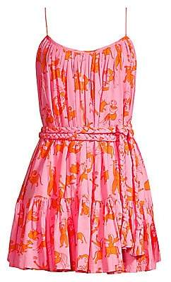 Rhode Resort Women's Nala Sleeveless Print Mini Dress
