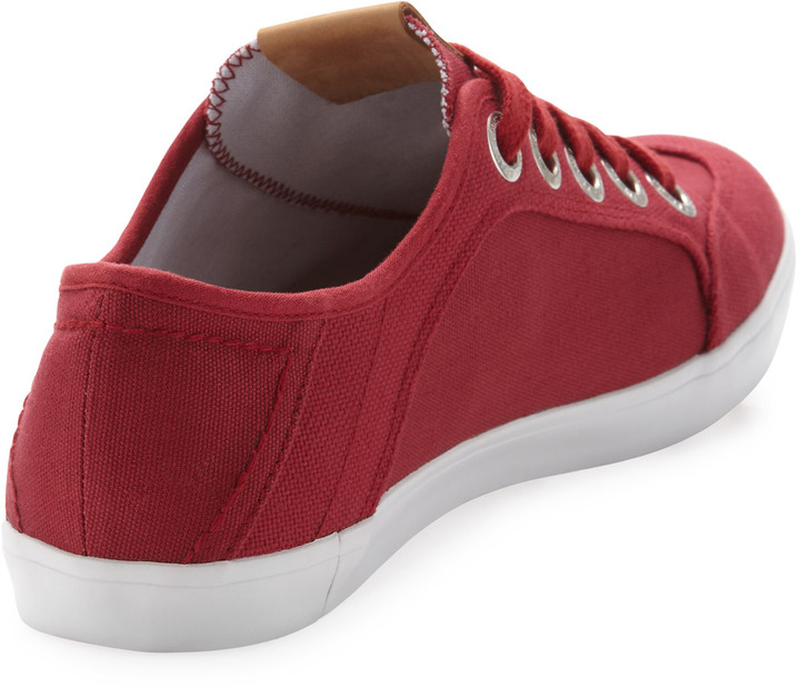 True Religion Eric Canvas Sneaker, Red