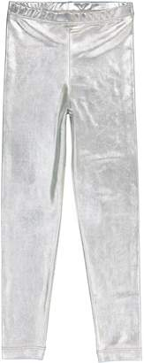 Masala Baby Silver Metallic Leggings