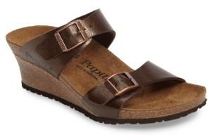 Women's Birkenstock Dorothy Wedge Slide Sandal $119.95 thestylecure.com