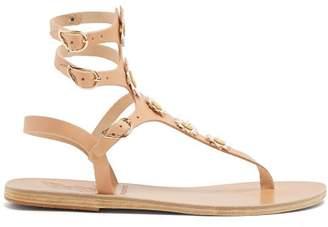 Ancient Greek Sandals X Fabrizio Viti Valentina Leather Sandals - Womens - Light Tan