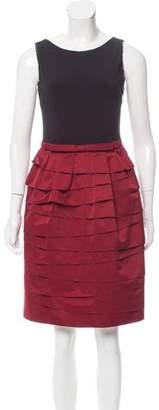 Paule Ka Layered Sleeveless Dress