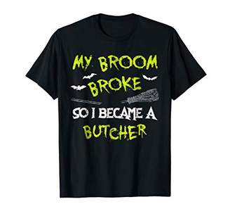 Butcher Halloween Costume Shirt Funny Easy Lazy Scary