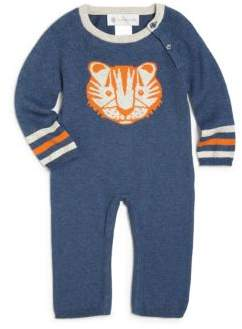 Lucky Jade Baby's Cotton& Cashmere Tucker Tiger Coverall