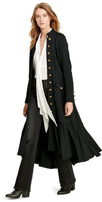 Ralph Lauren Denim & Supply Long Officer Coat $225 thestylecure.com