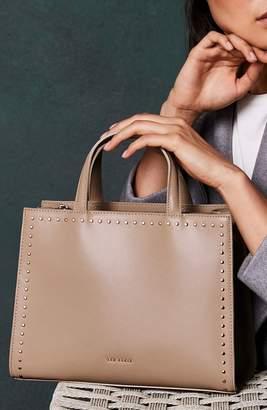 Ted Baker Stephh Stud Leather Shoulder Bag