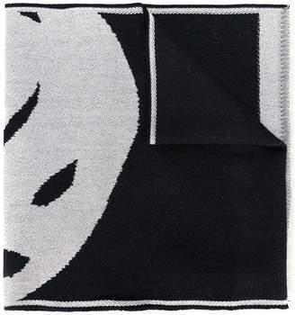 Alexander McQueen 'Big Skull' knit scarf