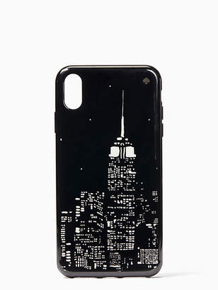 Kate Spade Glow in the dark skyline iphone xs max case