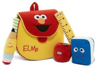 Gund Elmo's Backpack Playset