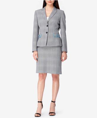 Tahari ASL Bow-Trim Skirt Suit $280 thestylecure.com