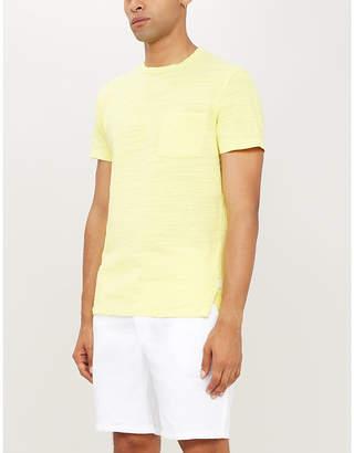 Orlebar Brown Sammy marled crewneck cotton T-shirt