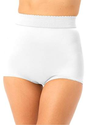 Rago Women's Plus-Size Hi Waist Panty Brief