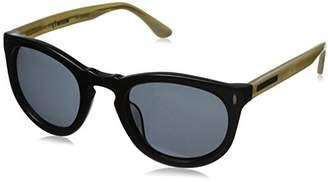 Hang Ten Gold Classic Key Hole HTG1017 C2 Polarized Round Sunglasses