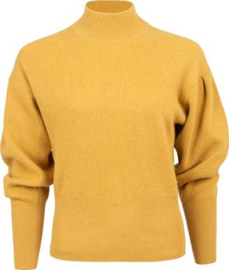 Brunello Cucinelli Ribbed Cashmere Mock Neck Pullover