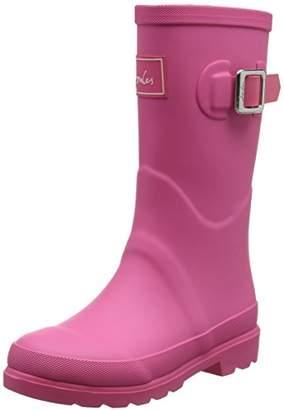 Joules Girls' Fieldwelly Wellington Boots, (True Pink), 10 Child UK 28 EU