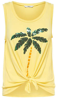 Only Arli Sleeveless Knotted Tank Top