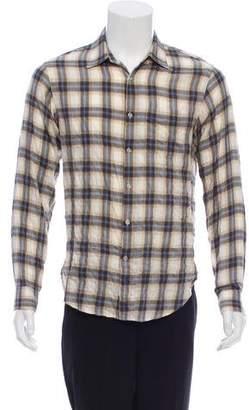 Rag & Bone Plaid Flannel Shirt