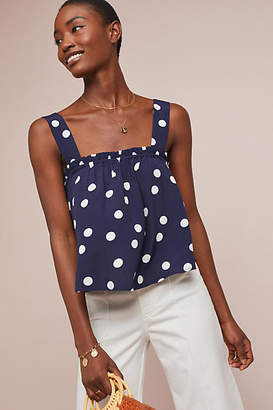 Maeve Polka Dot Swing Top