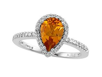Effy Jewelry Genuine Citrine Ring by Effy Collection® 14kt Size 4.5