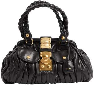 Miu Miu Matelassé leather handbag
